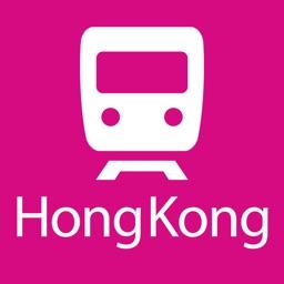Hong Kong Rail Map Lite