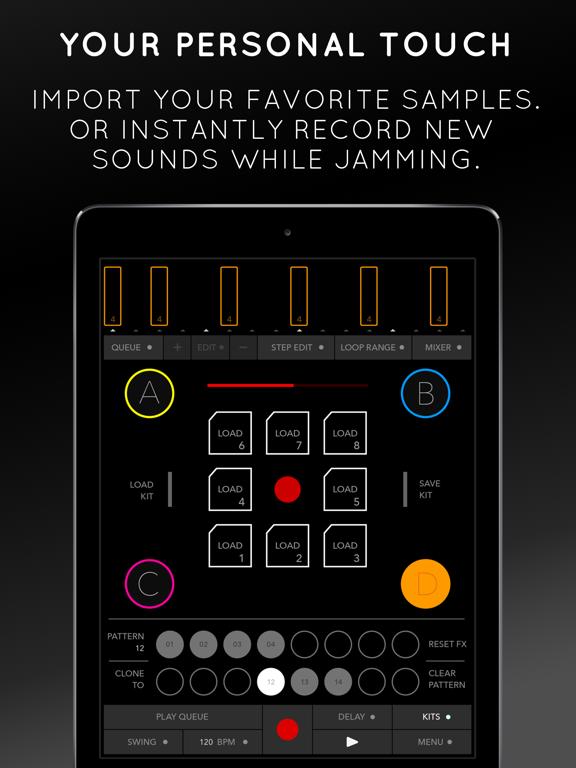 triqtraq - jam sequencer screenshot