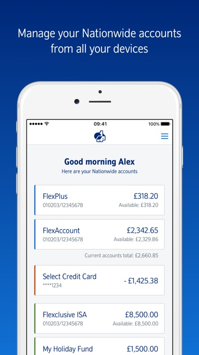 nationwide mobile banking by nationwide building society ios
