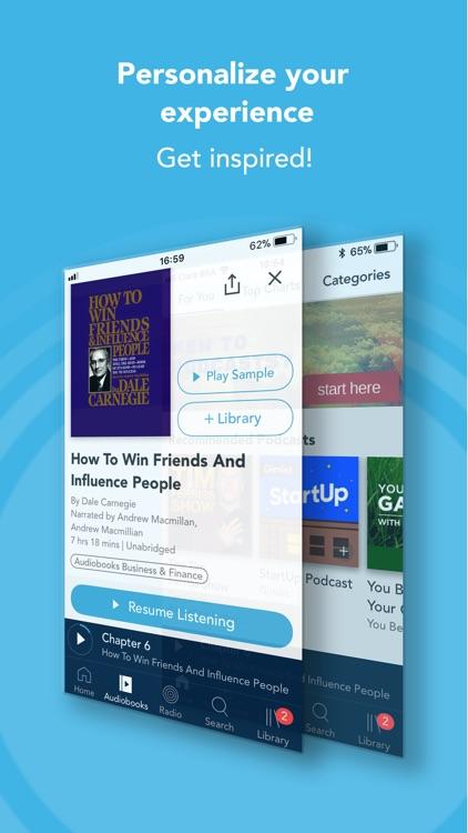 Otto - Audiobooks & Podcasts screenshot-4