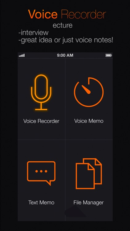 Voice Recorder: Audio record screenshot-3