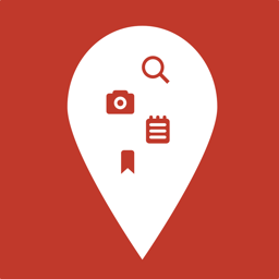 Ícone do app PinTrip: Mark Your Places