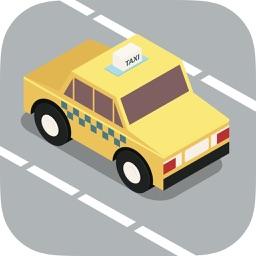 Taxi driver 3D car simulator