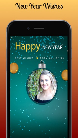 New Year Photo Frame Editor on the App Store