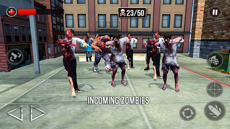 City Police Zombie Defense 3D screenshot-3