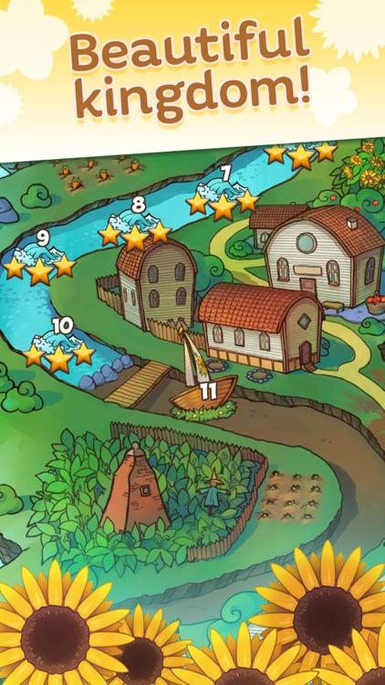 Fairy Blossom Charms - Match 3 screenshot-3