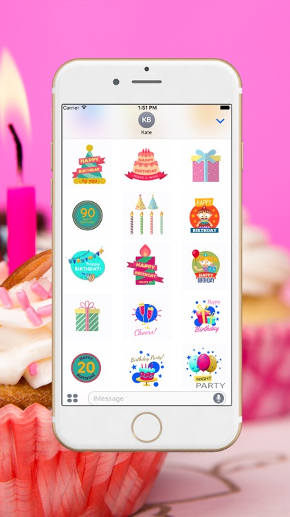 Birthday Stickers For you!