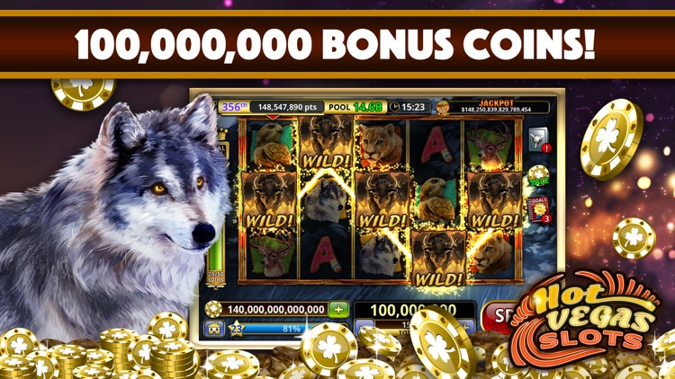 Slots: Hot Vegas Slots Casino screenshot-0