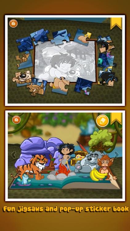 The Jungle Book ~ 3D Interactive Pop-up Book screenshot-3