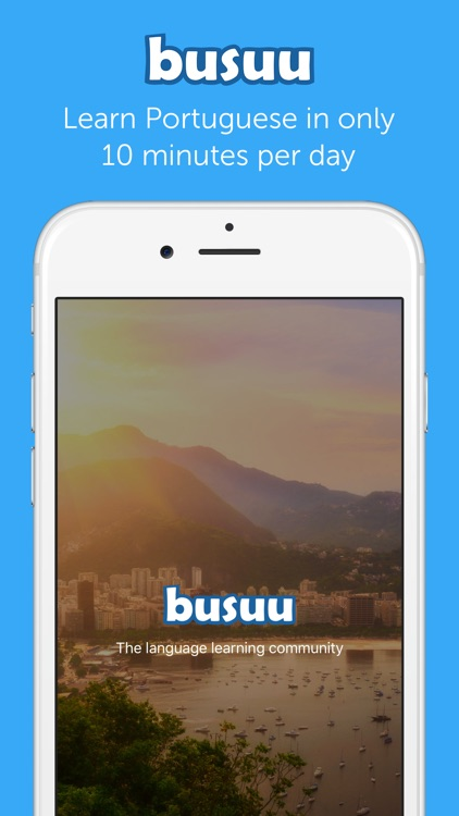Learn Portuguese with busuu