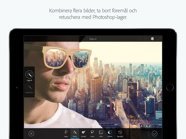 hur klipper man ut bilder i photoshop