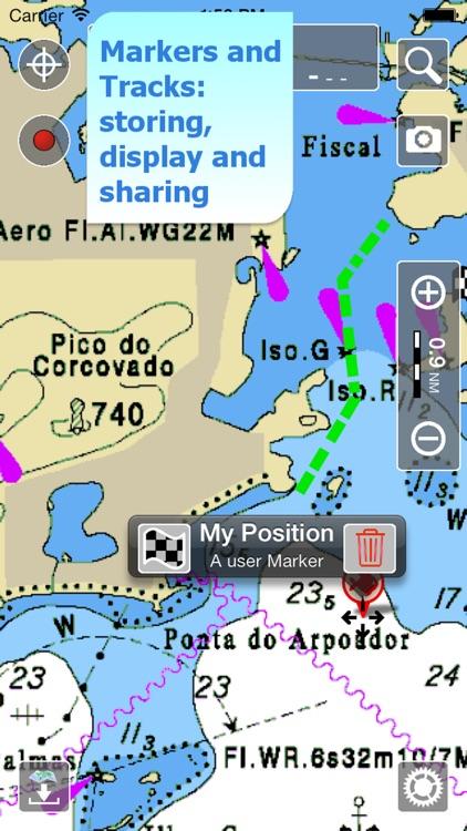 Aqua Map Brazil - Marine GPS screenshot-3