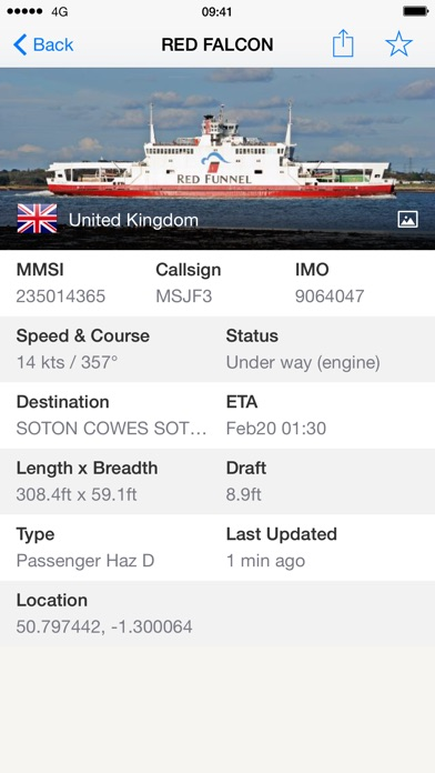Screenshot for Ship Finder in Singapore App Store