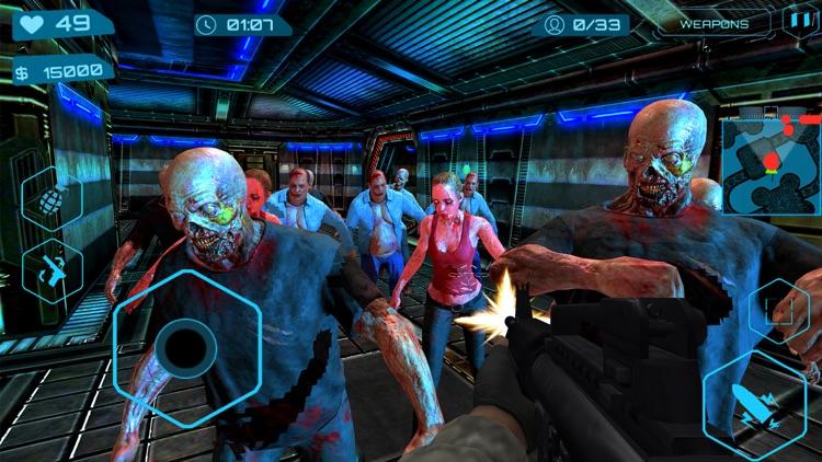 Zombies Slay Assassin ZG Pro screenshot-4