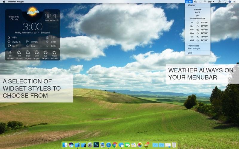 Weather Widget Desktop på PC