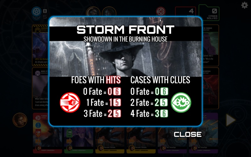Dresden Files Co-op Card Game for Mac