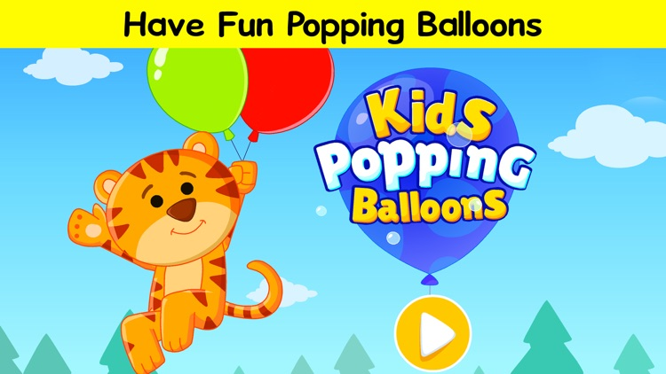 Pop the Balloons - Learn ABC & 123 Numbers