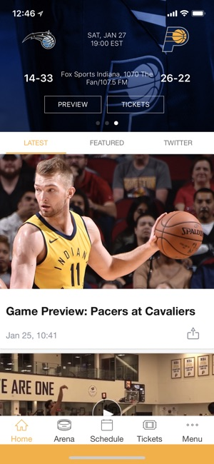 best website 26f31 6fc97 Indiana Pacers Official on the App Store