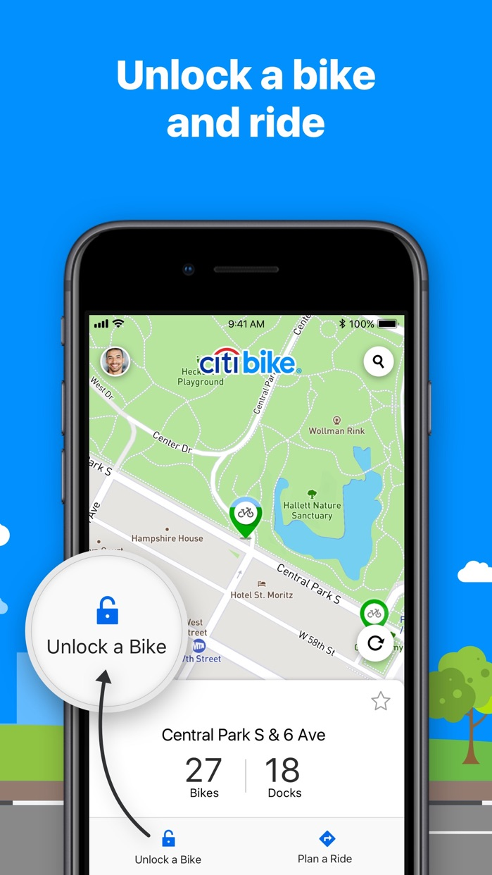 Citi Bike Screenshot