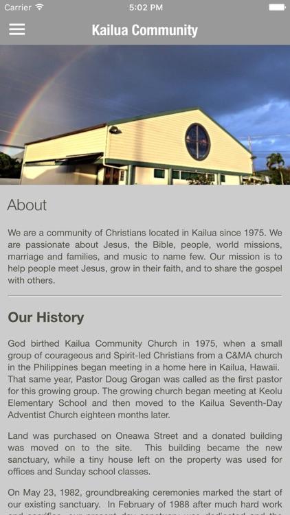 Kailua Community Church By Apollo S Llc