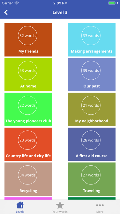 3000 Vocab -English Vocabulary screenshot four