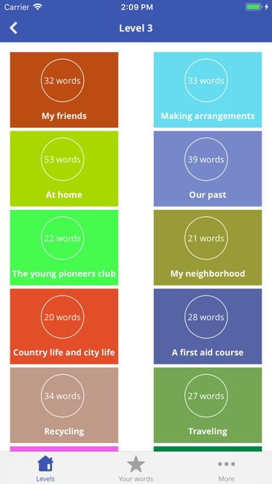 3000 Vocab -English Vocabulary screenshot four