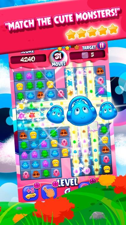 Monsters Match 3 Mania screenshot-3