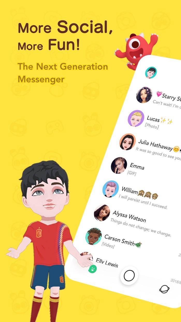 BOO! - Next Gen Messenger Screenshot