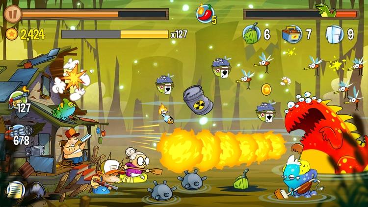 Swamp Attack screenshot-4