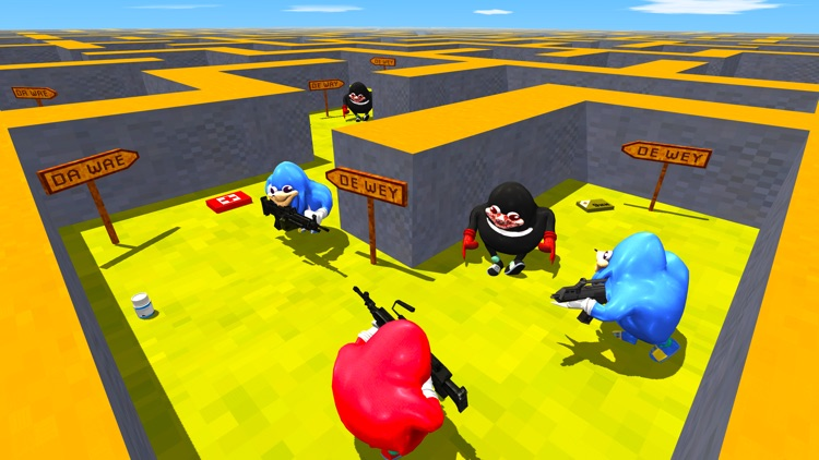 Ugandan Knuckles Battle Royale screenshot-3