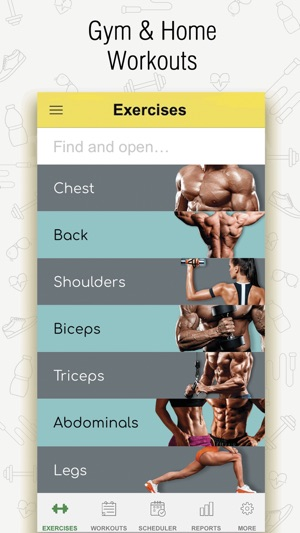Fitness workout for gymhome on the app store