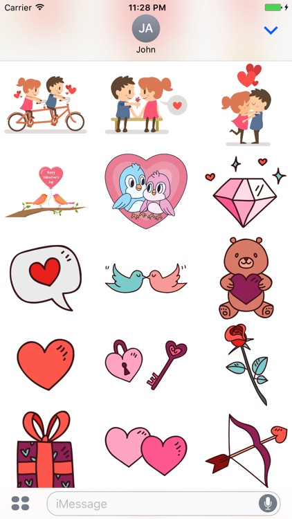 Happy Valentine Day - Stickers screenshot-3