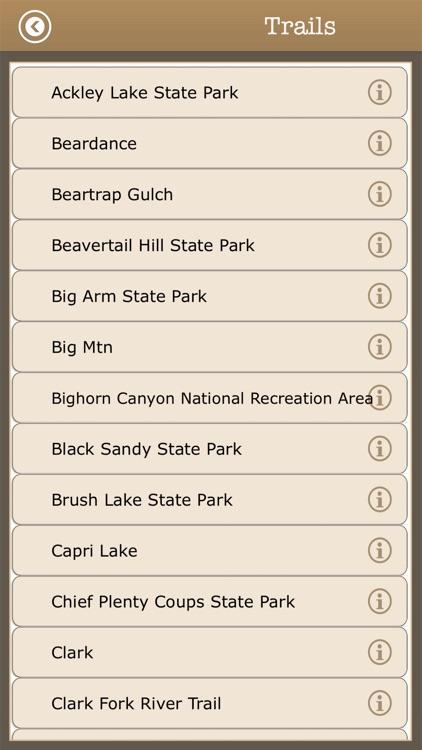 Visit Montana Camps & Trails screenshot-3