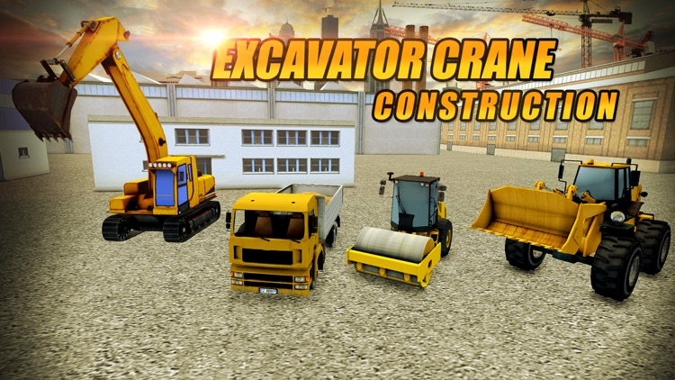 Excavator Crane Construction