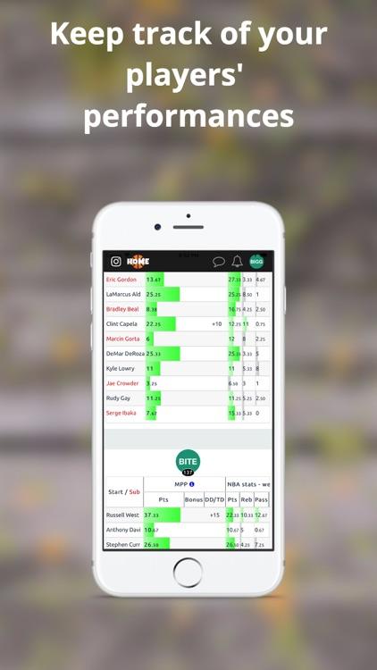 MPP - Basketball Fantasy screenshot-4