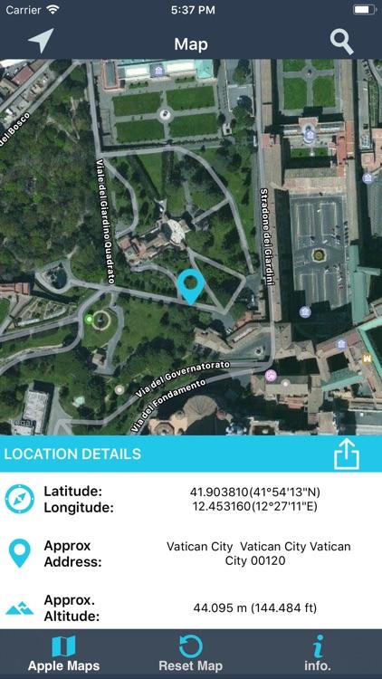 Find My Location details