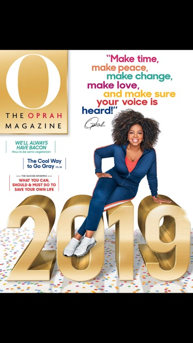 O The Oprah Magazine Us review screenshots