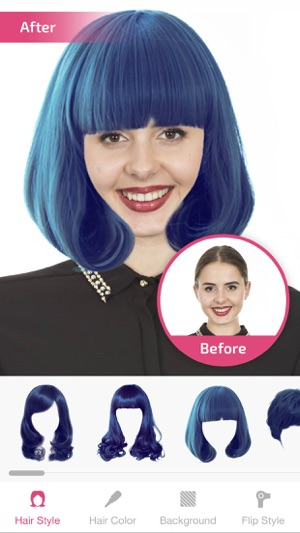 Hair Changer- Hairstyle Makeover & Hair Editor on the App Store