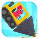 恐龙挖掘机2 - 驾驶汽车和赛车儿童游戏总动员