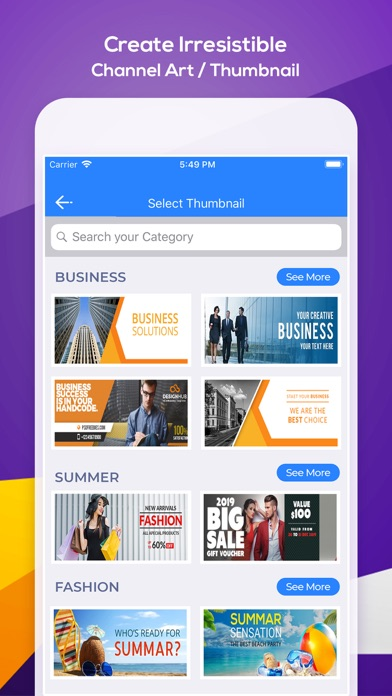 Thumbnail & Banner Maker App Data & Review - Photo & Video - Apps