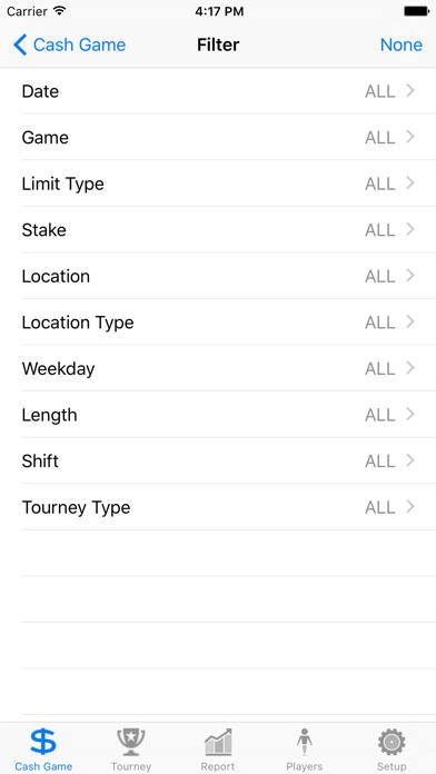 Poker Income Tracker ScreenShot0
