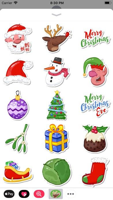 Festive Christmas Stickers screenshot 2
