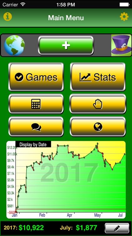 Poker Track Pro – Live Stats and Bankroll Tracker screenshot-0