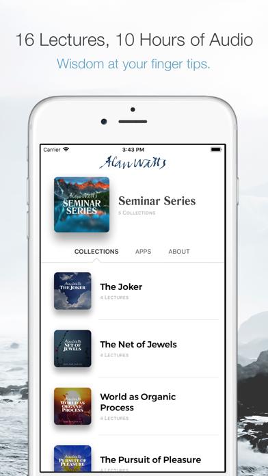 Alan Watts - The Seminar Series Screenshot 1
