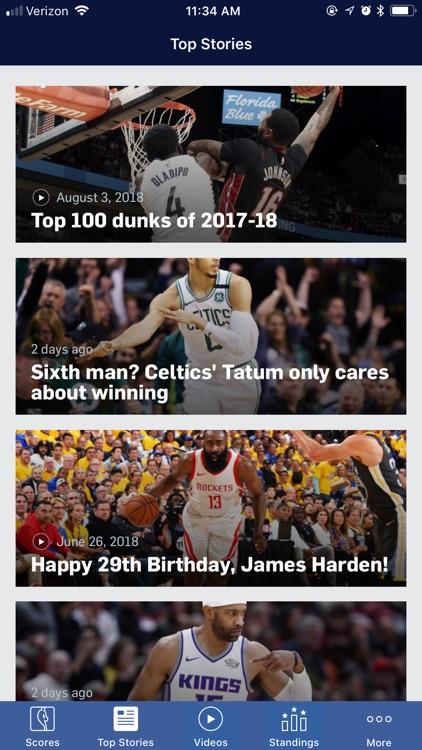 NBA screenshot-4