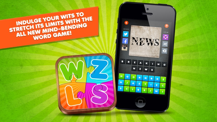 Word Puzzle Game Rebus Wuzzles screenshot-1