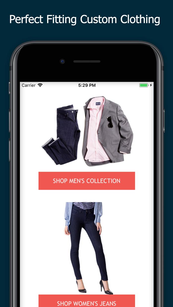MTailor - Custom Clothing Screenshot