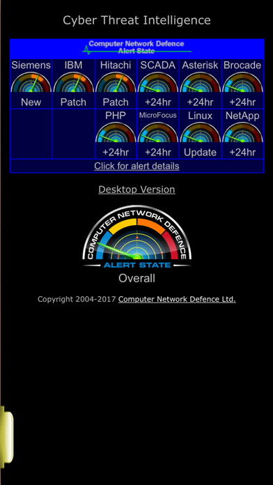CND Radar screenshot one