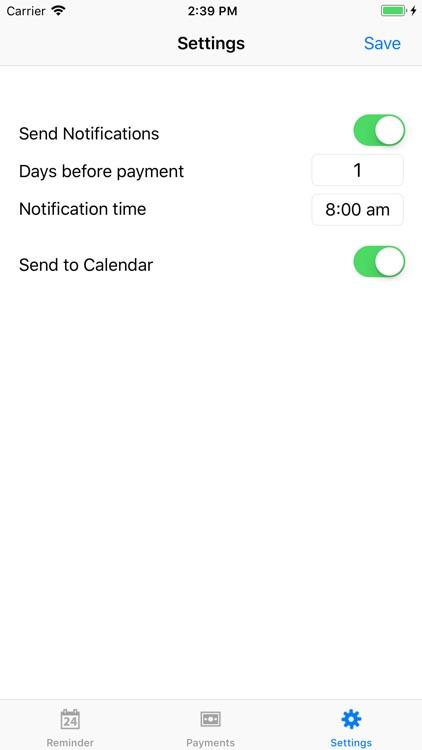 PayMinder screenshot-3