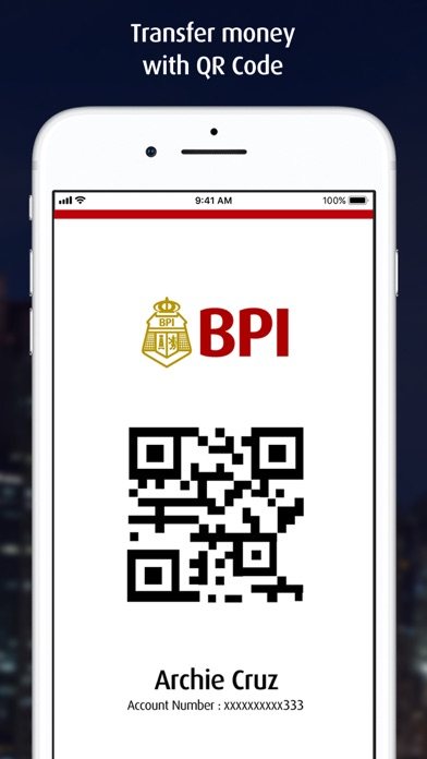 Screenshot for BPI Mobile in Philippines App Store
